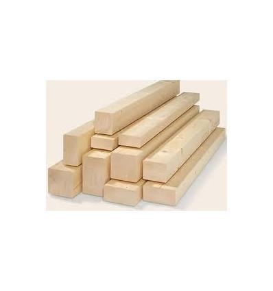 Vigas de madera laminada de 100 x 100 mm