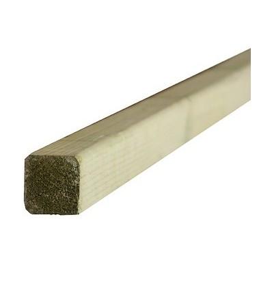 Rastreles Madera tratada-Riesgo 4, de 45 x 45 mm