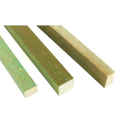 Rastreles Madera Tratada-Riesgo 2, de 30 x 48 mm