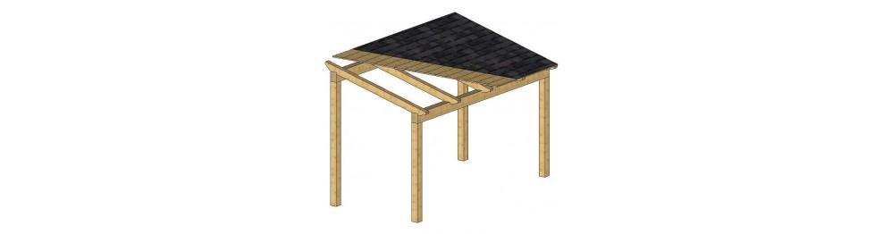 """KIT""Pérgolas de madera. (Creála a TU MEDIDA)"