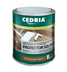 Protector Sol-Plus, para tarimas de madera tropical