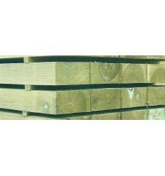 Traviesas de madera tratada Autoclave - Riesgo 4