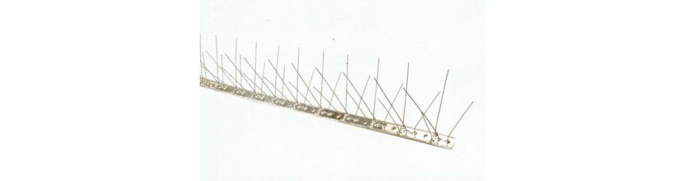 Pinchos antipalomas de Acero Inoxidable
