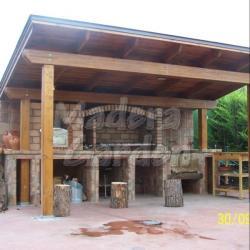 asador de madera